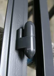 Steel window and door Bullet hinge Powder coated - Design Plus London