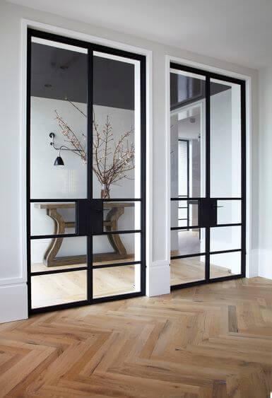 Steel Door design idea 1