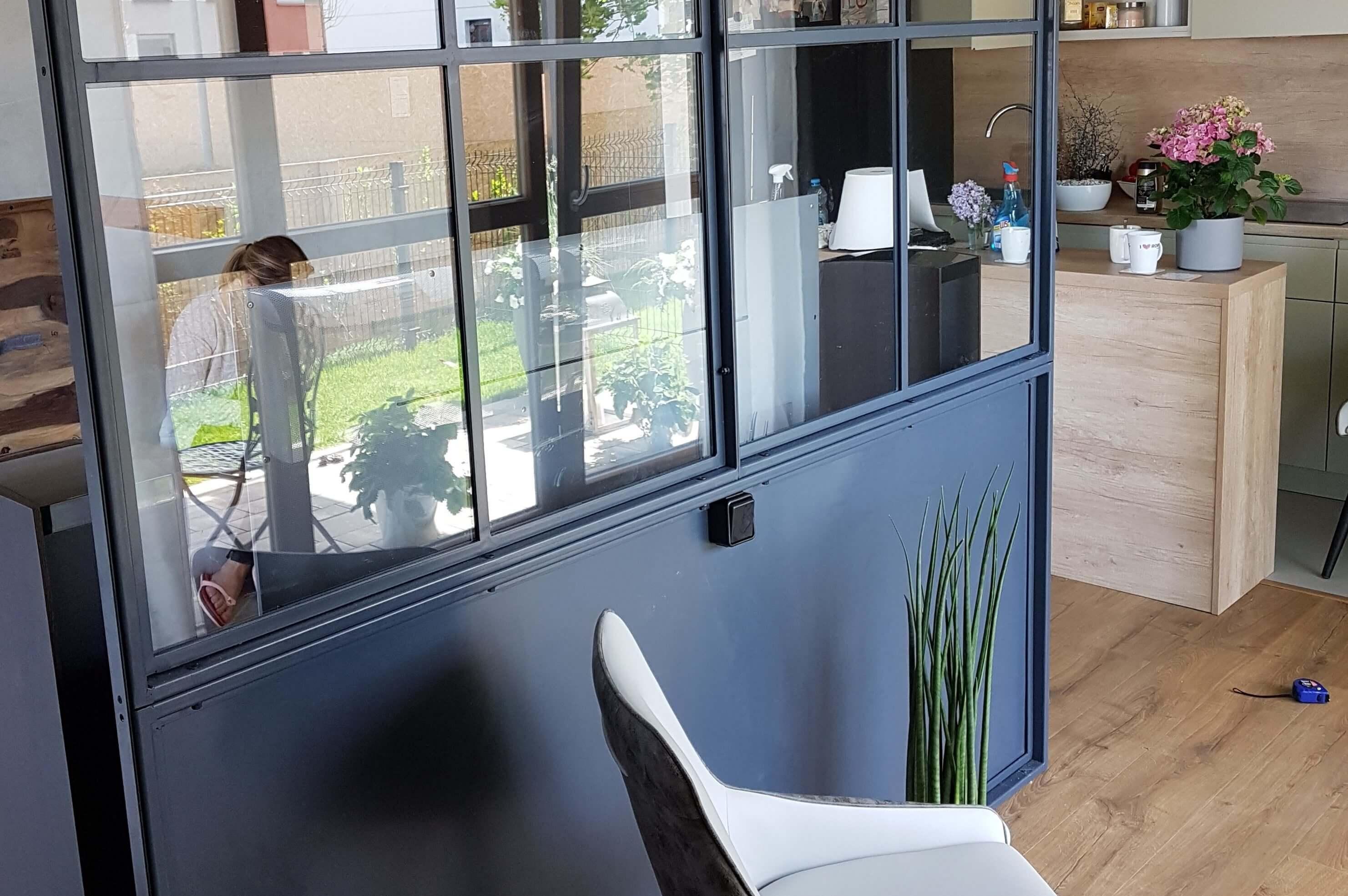 Steel window crittall style Design Plus London W20 Kick Plate