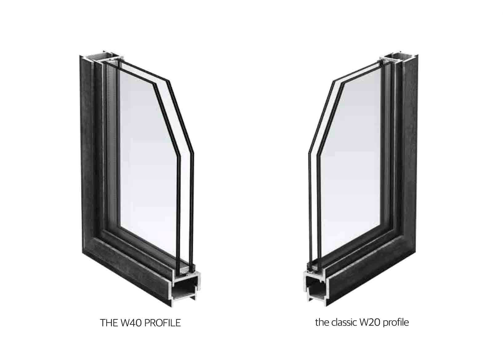 The W40 Steel Profile Design Plus London