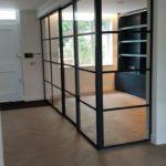 Crittall Steel sliding Door NW8 Design Plus London