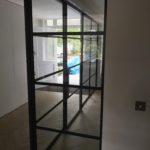 Crittall sliding door and Partition Design Plus London 1