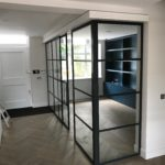 Crittall sliding door and Partition Design Plus London 3