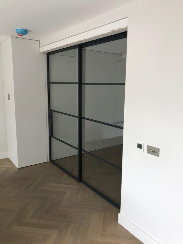 Crittall sliding doors Design Plus London 1