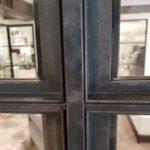 Raw steel internal doors Design Plus London