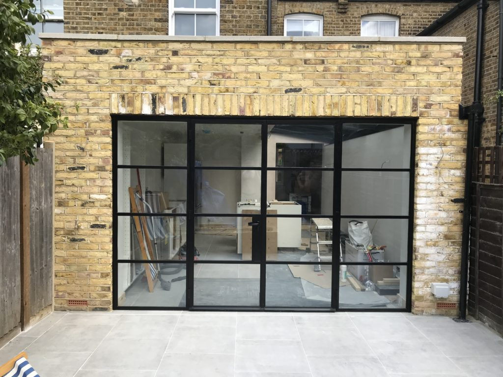 SW London External W20 Black Steel Doors Design Plus London 3