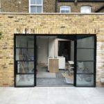 SW London External W20 Black Steel Doors Design Plus London 5