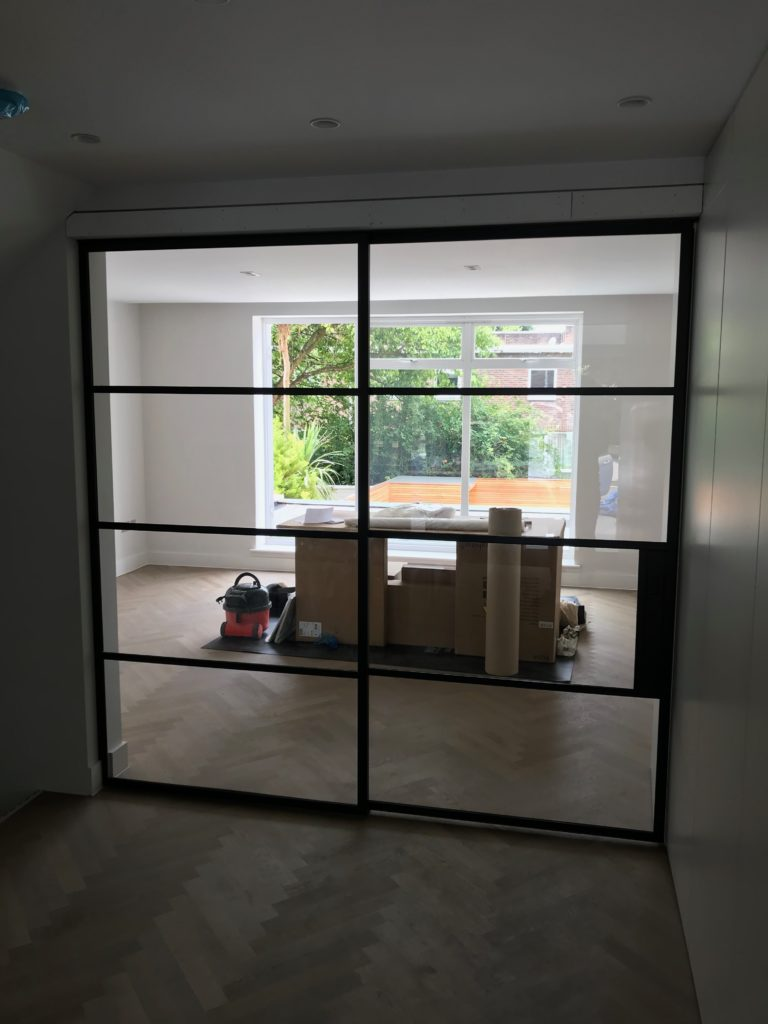 Steel Sliding Doors by Design Plus London