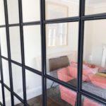 Stylish Black Steel partition 2 Design Plus London