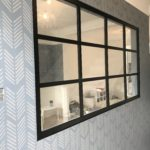 Black steel crittall style partition 3 Design Plus SW19