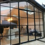 Crittall style steel doors to extension Design Plus 7
