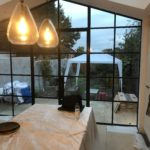 Crittall style steel doors to extension Design Plus 8