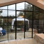 Crittall style steel doors to extension Design Plus 9