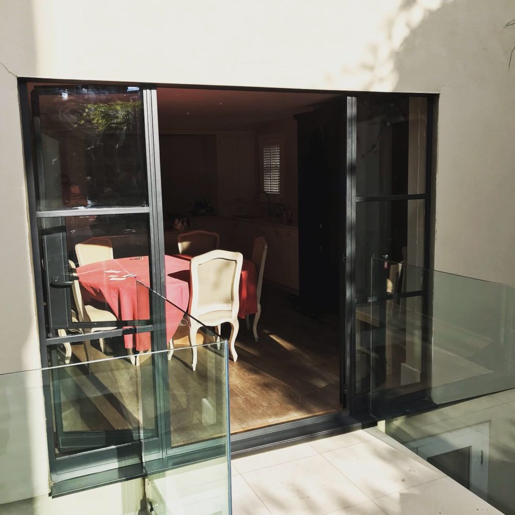 External Steel Doors Crittall look W20 2