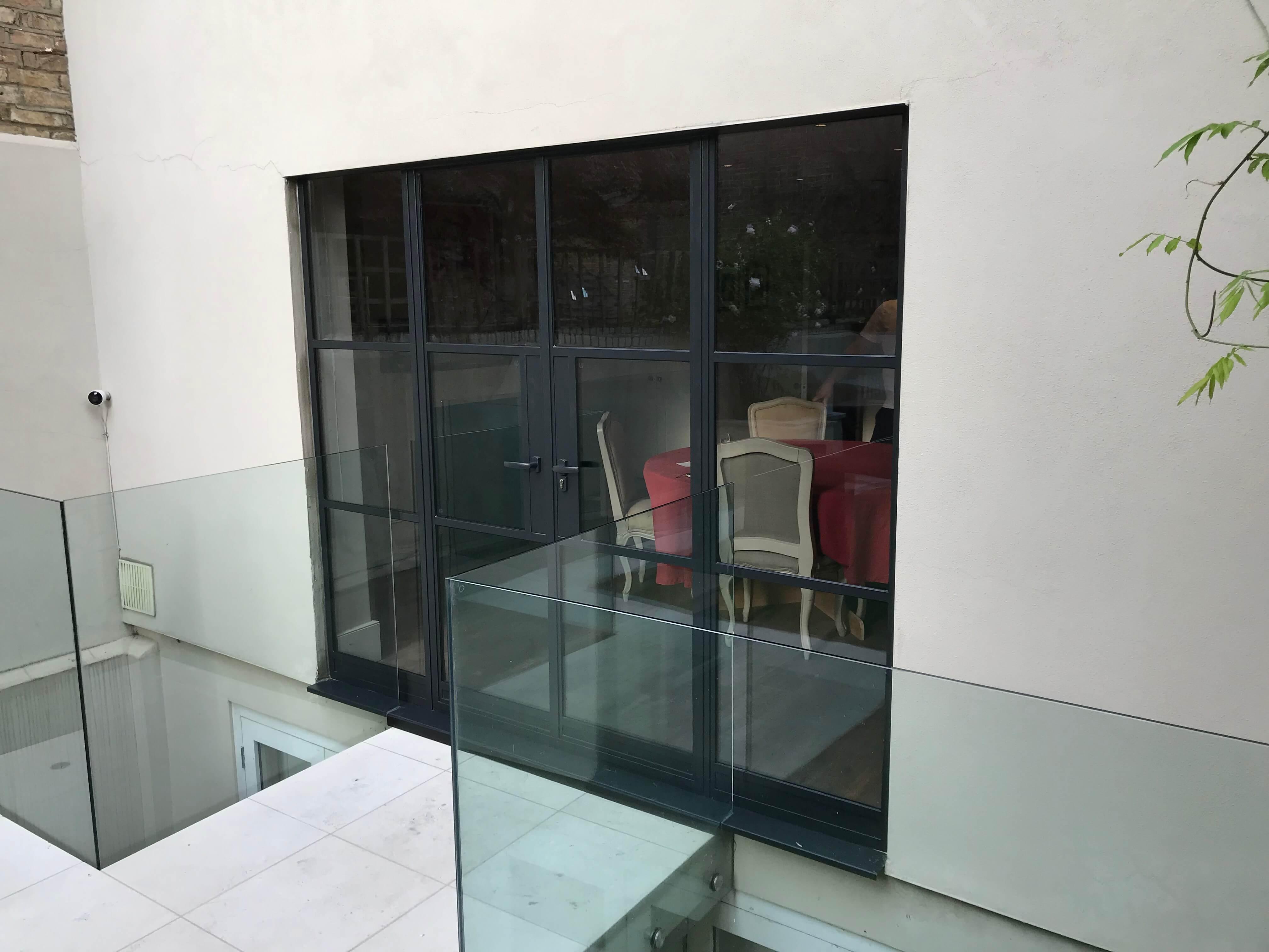 External Steel Doors Crittall look W20 3