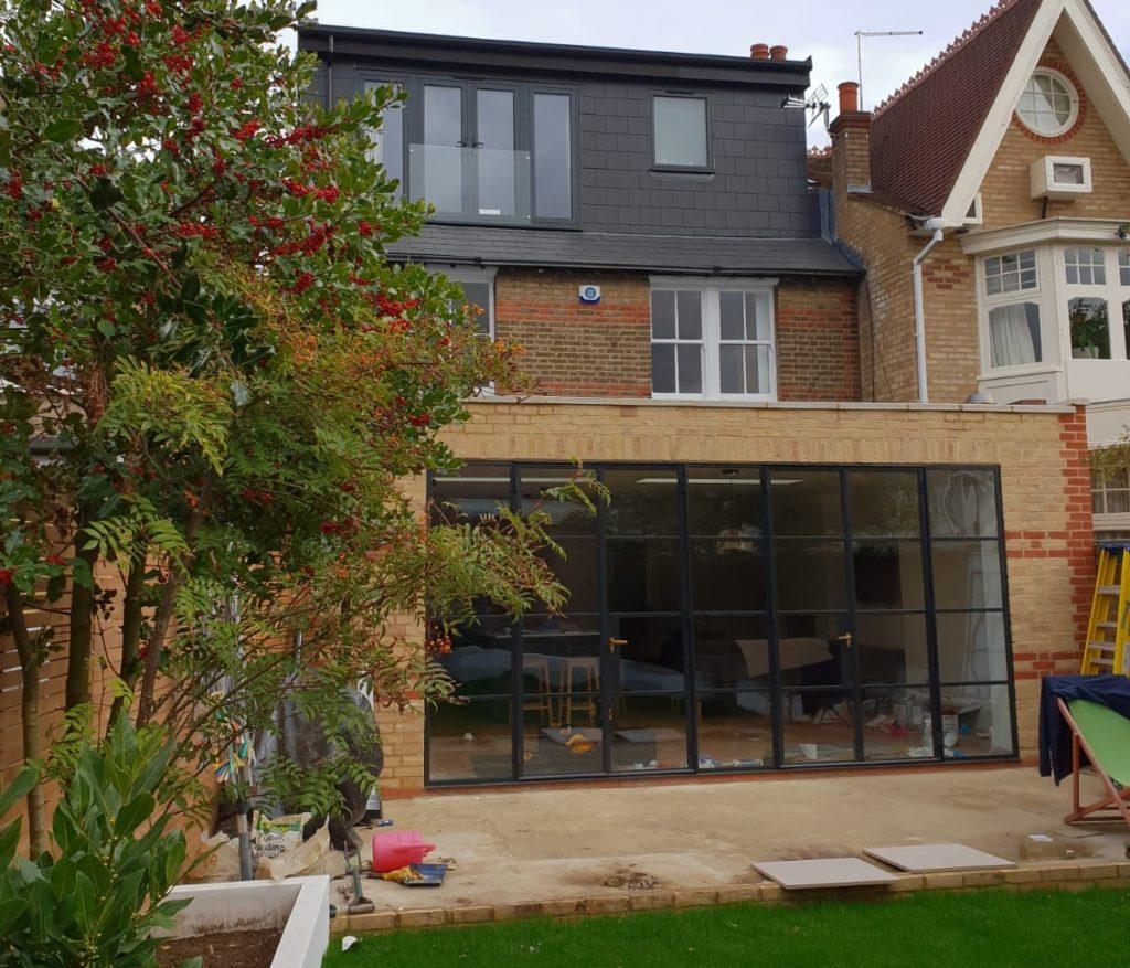 Black steel doors Design Plus London 6