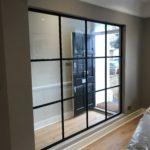 Internal Black Steel Partition Design Plus 9