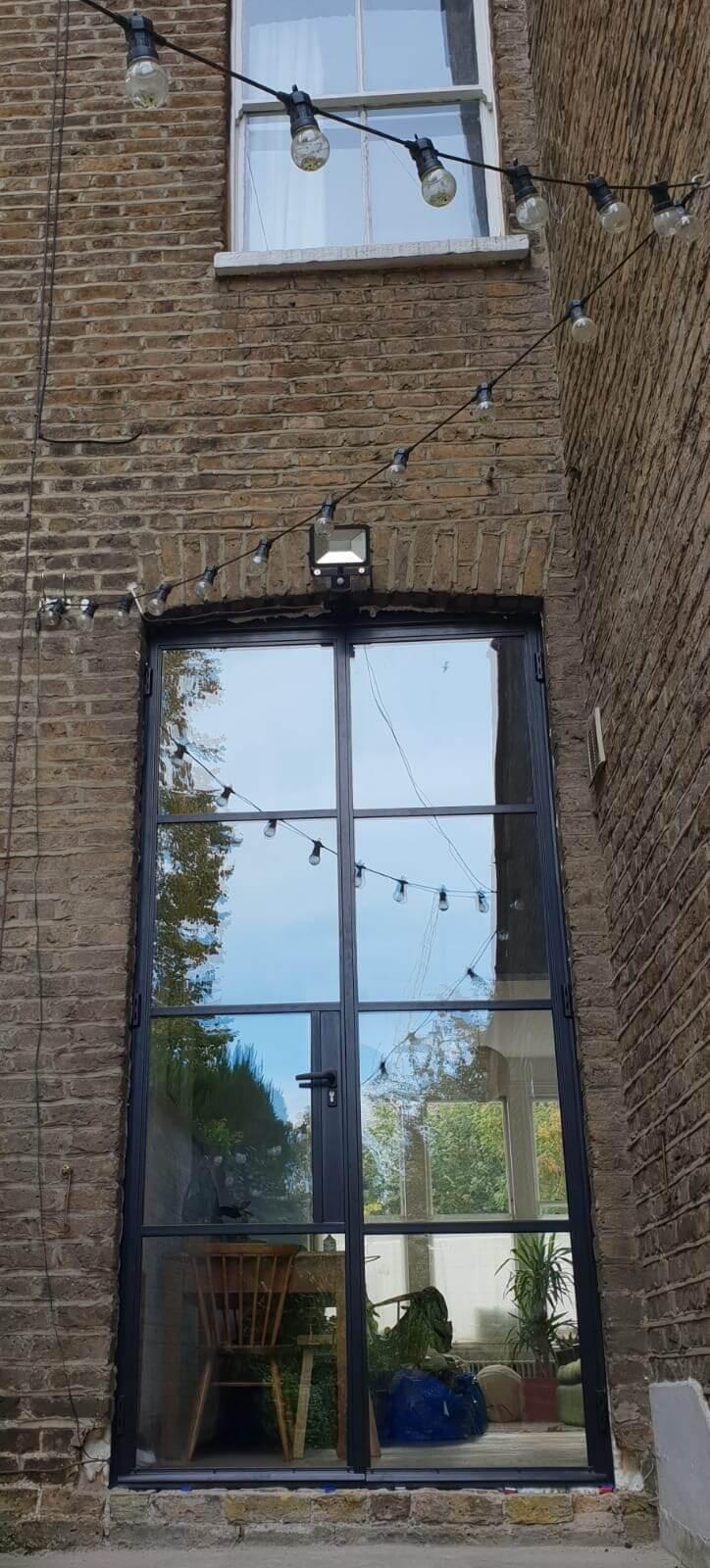Black Steel Doors N4 Design Plus London 1