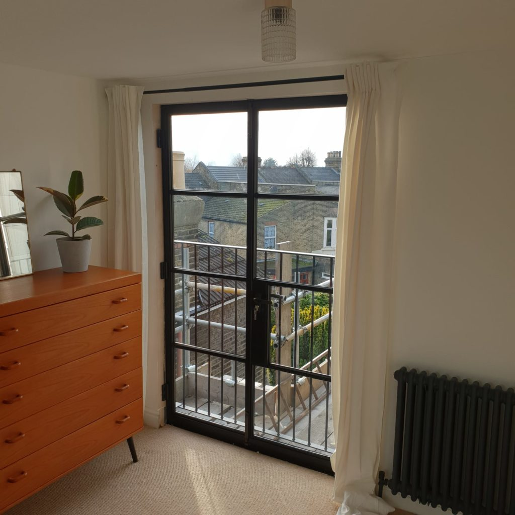 Black Steel Loft Double Doors Design Plus London 2