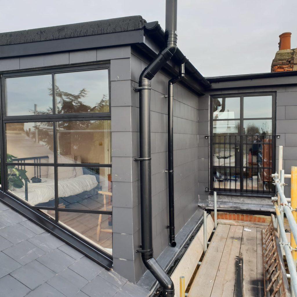 Black Steel Loft door and windows Design Plus London 4