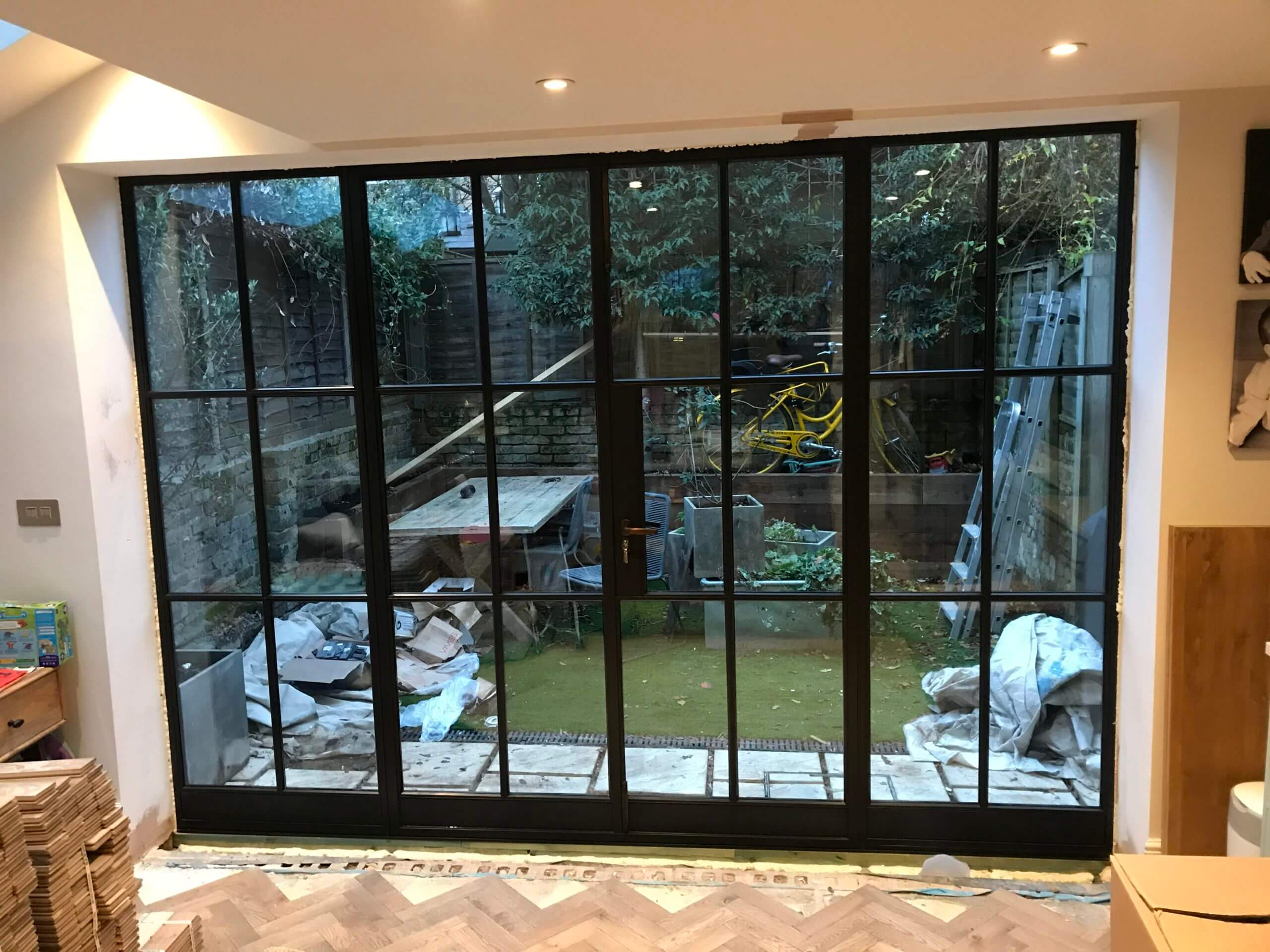 Crittall look Black Steel Doors Design Plus London 5