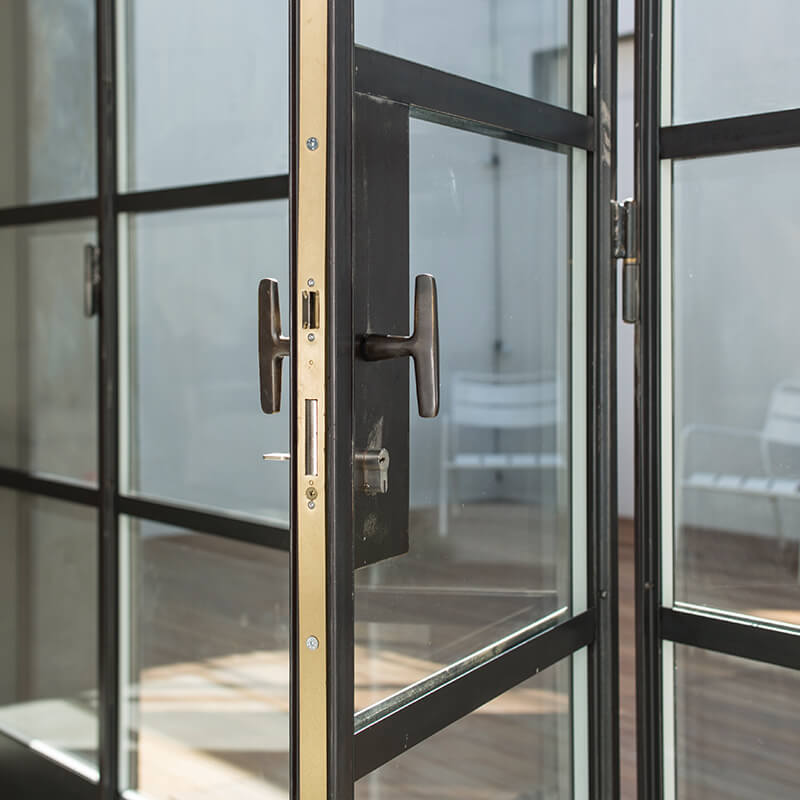 T Bar Handle Steel Windows and Doors W20 Crittall style