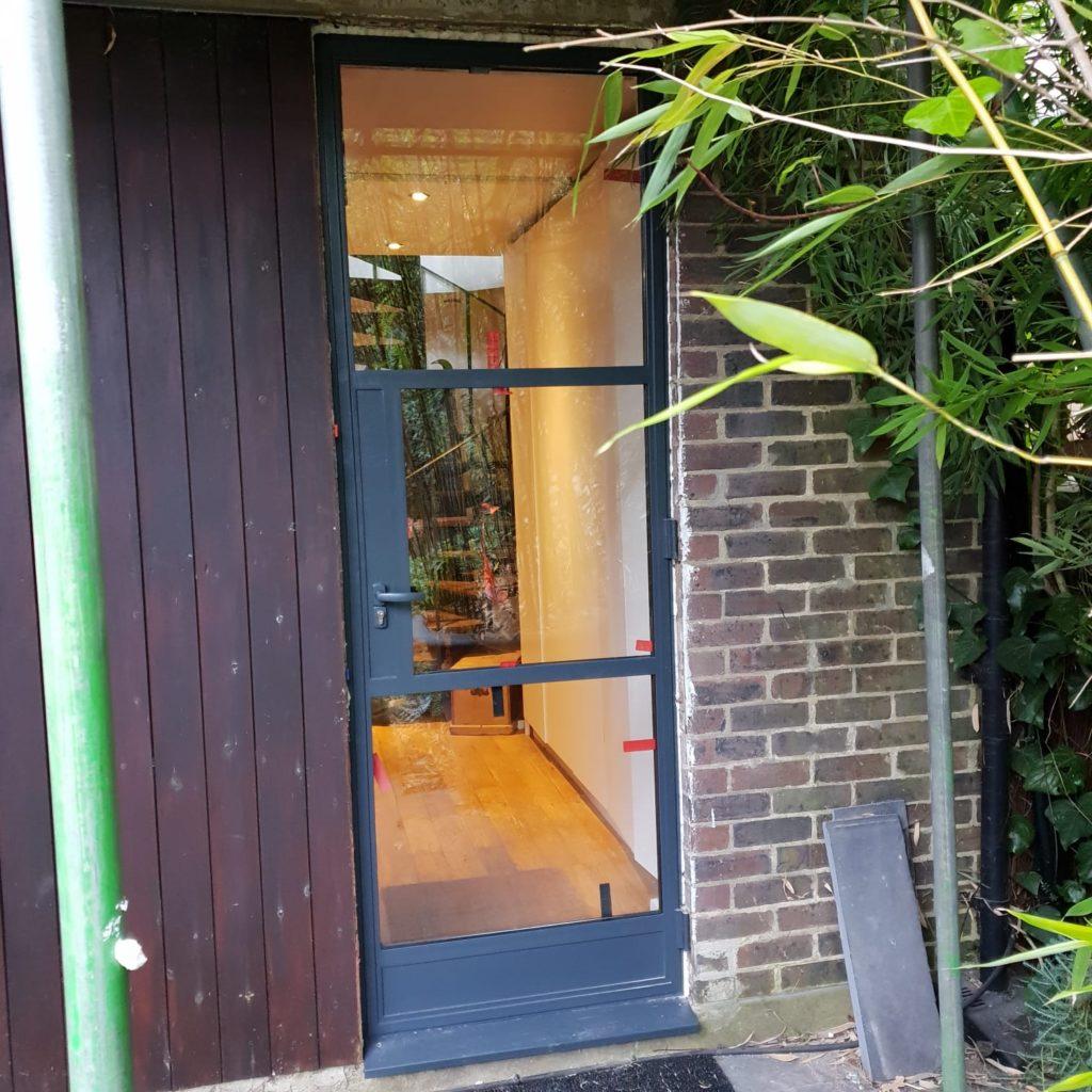 Steel door Crittall Windows inspired Design Plus London W20 W40 1