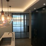 Critall Pocket doors in kitchen Design Plus London