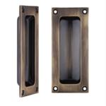 MH Flush Pull Bronze Design Plus