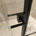 Internal Slim Steel Double Door Screen Design Plus Close Up handle