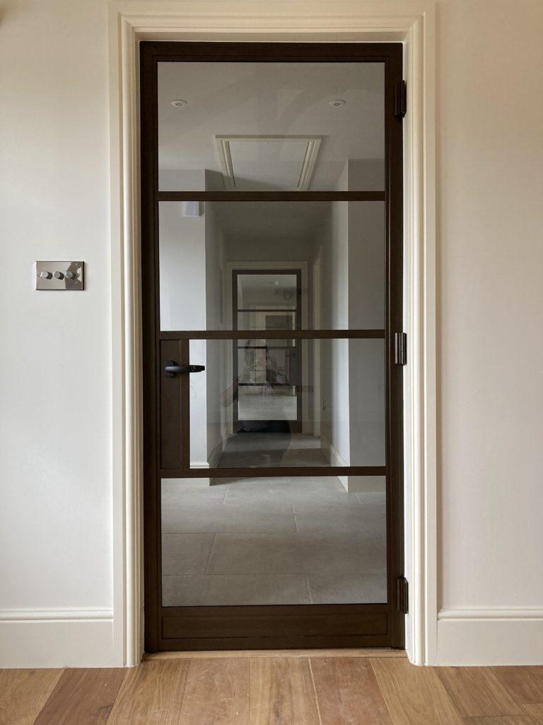 Internal Steel Doors in Bronze Design Plus 01
