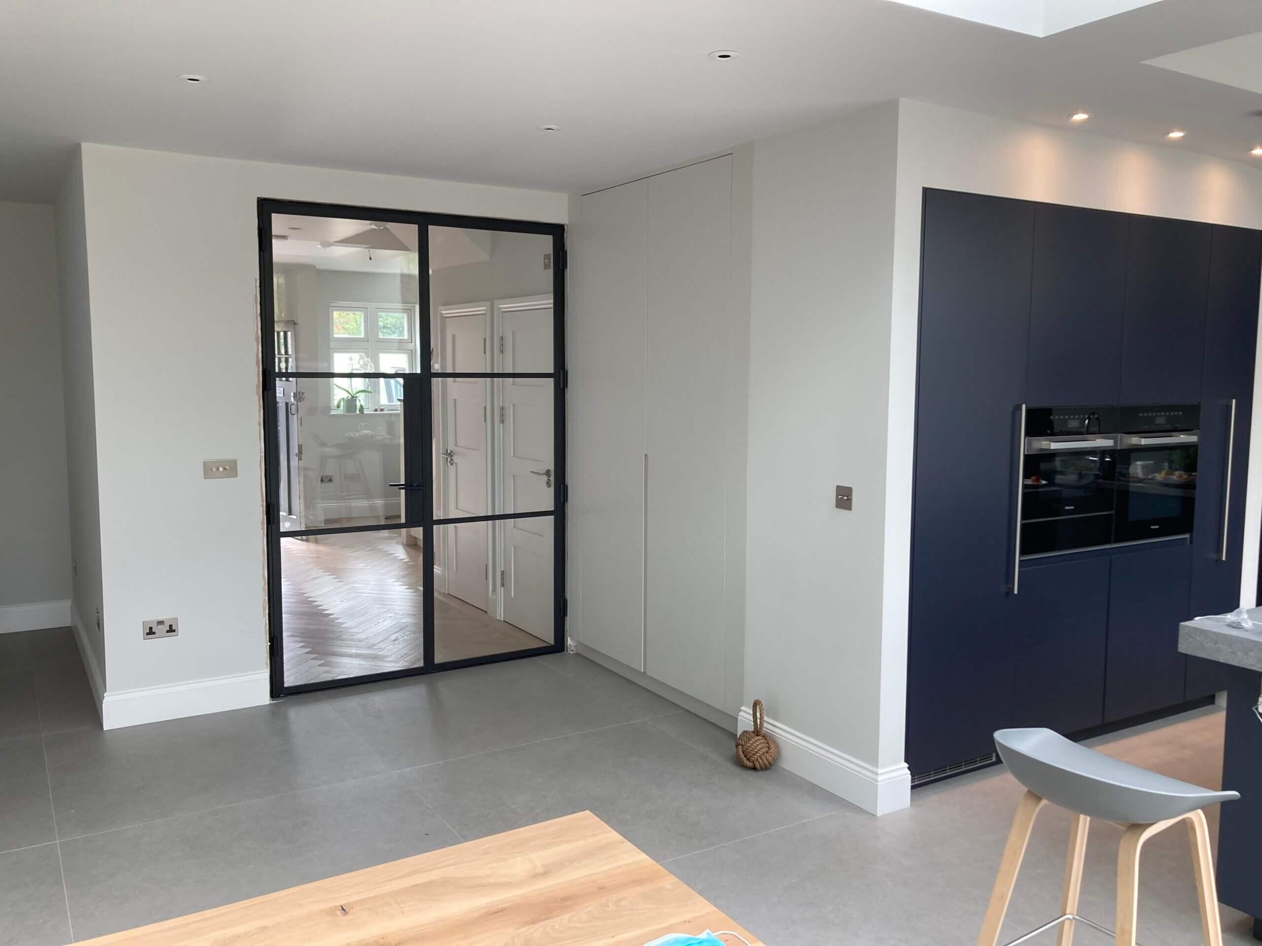 Steel fire door Design Plus London 05