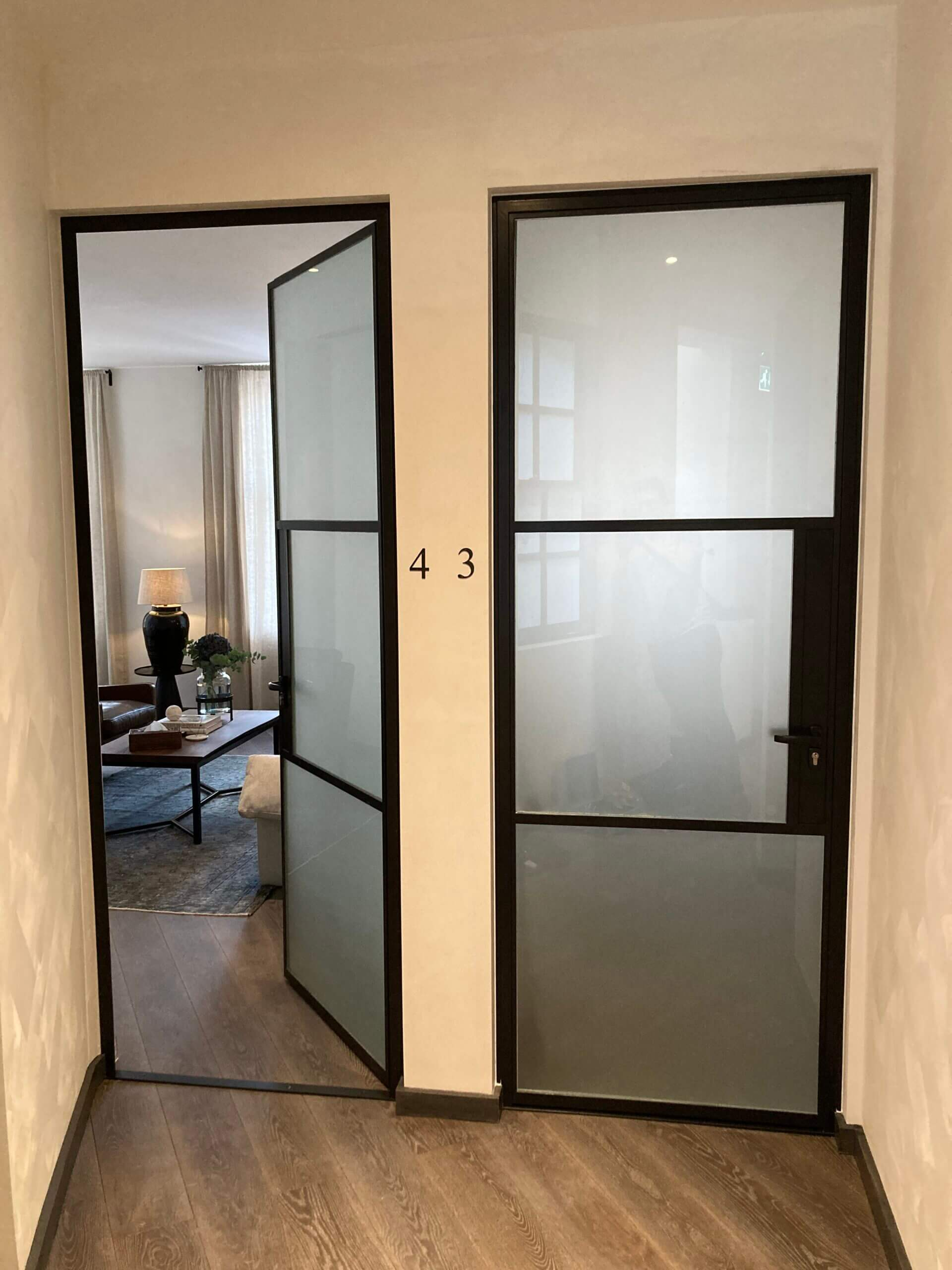 Internal Steel fire door Design Plus 07