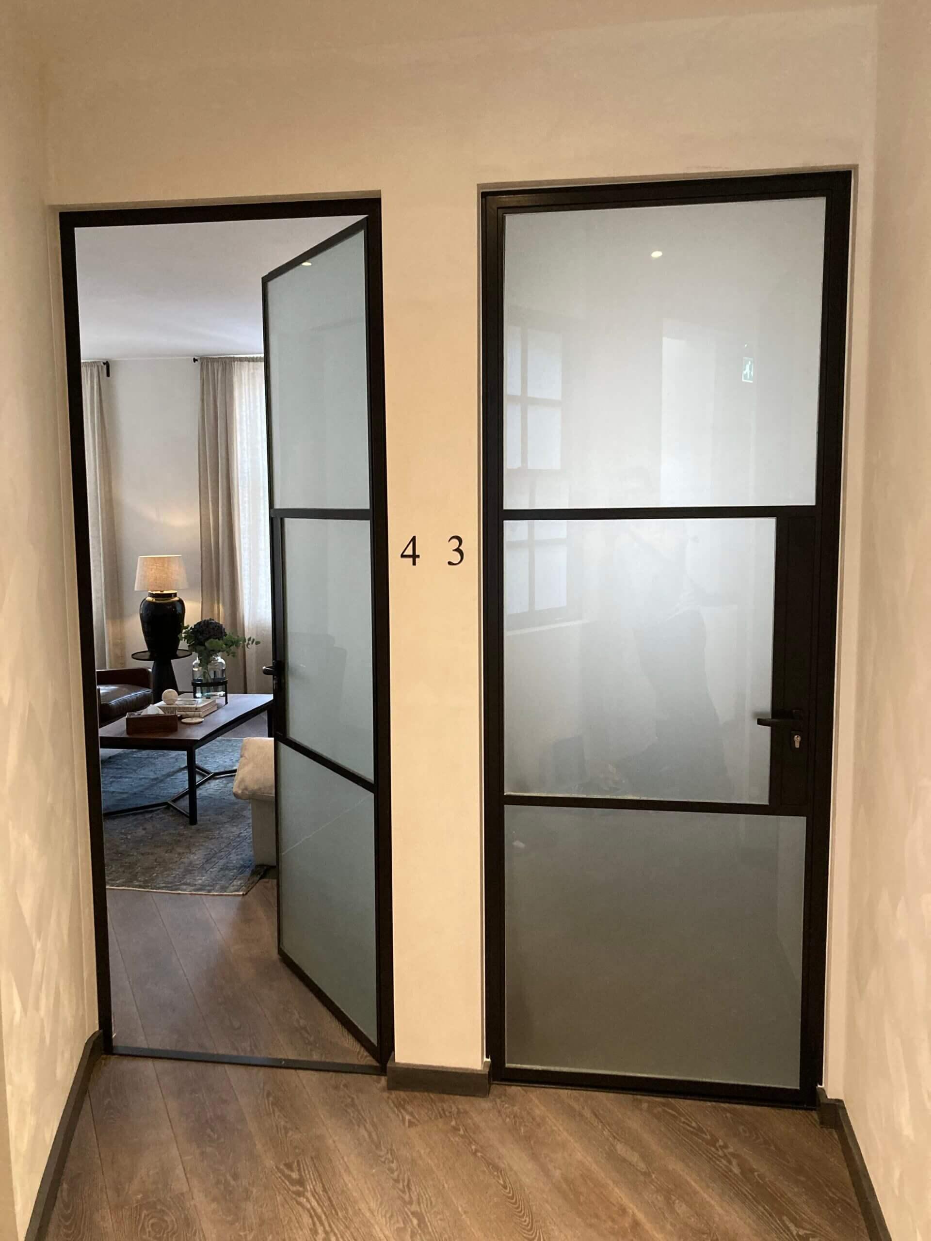 Internal Steel fire door Design Plus 07
