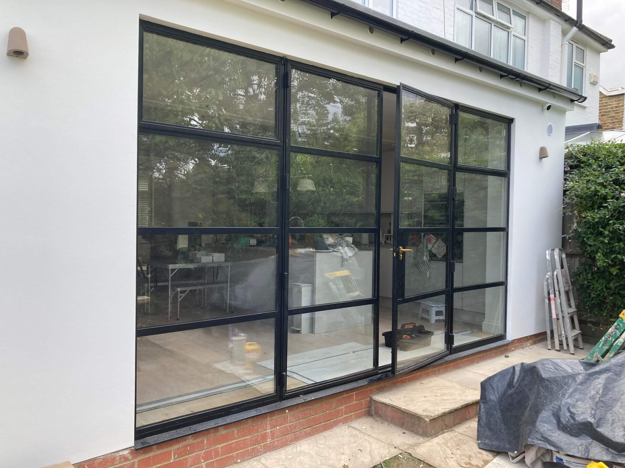 Original Steel 2 Doors and Windows Design Plus 02