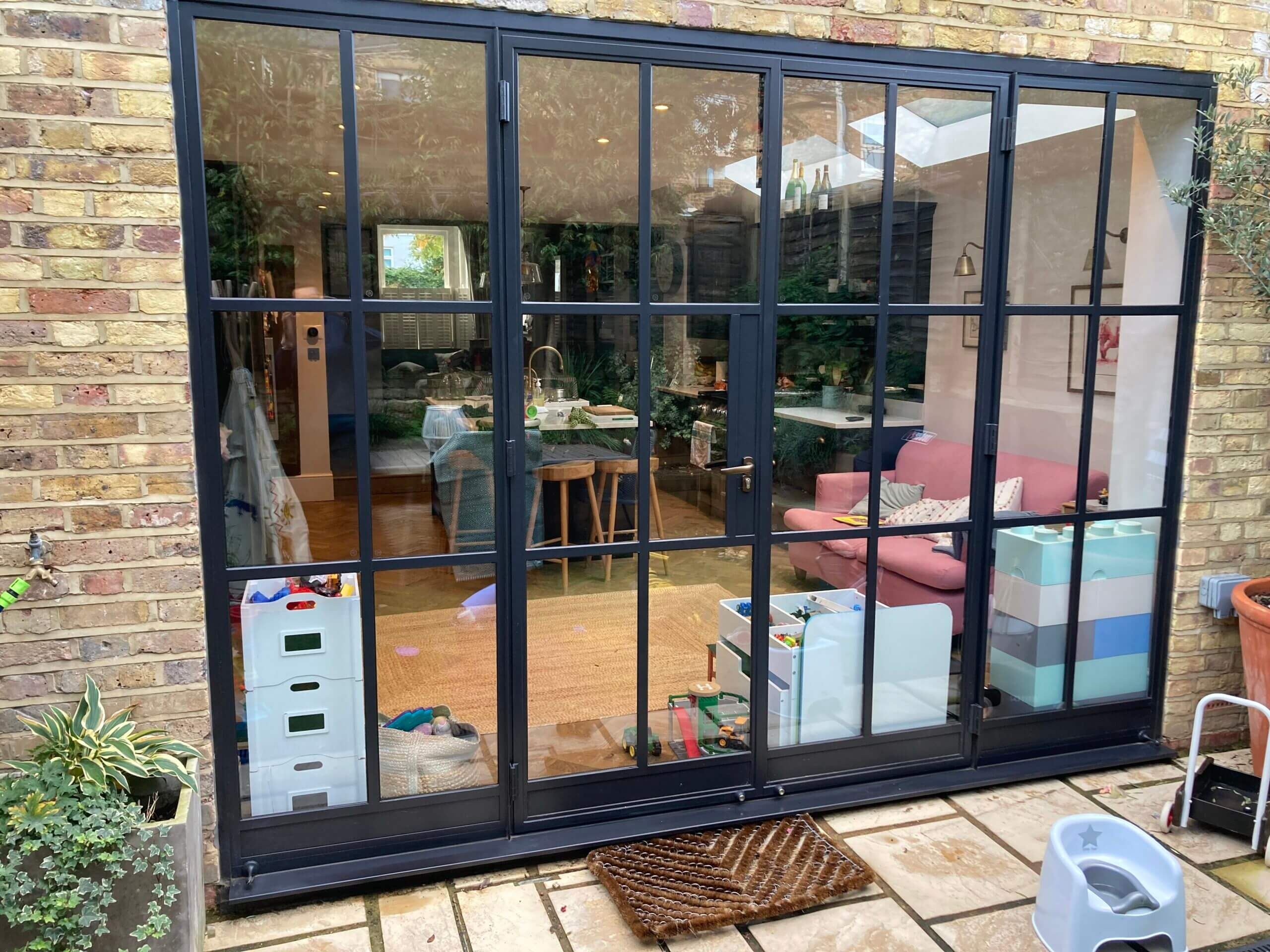 Original Steel doors Design Plus London F6a 01