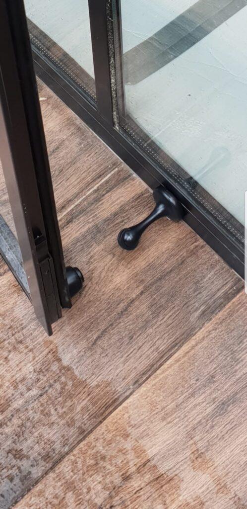 Black Original Steel Door stop Design Plus London