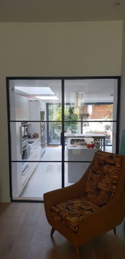Internal Slim Steel double door DesignPlus