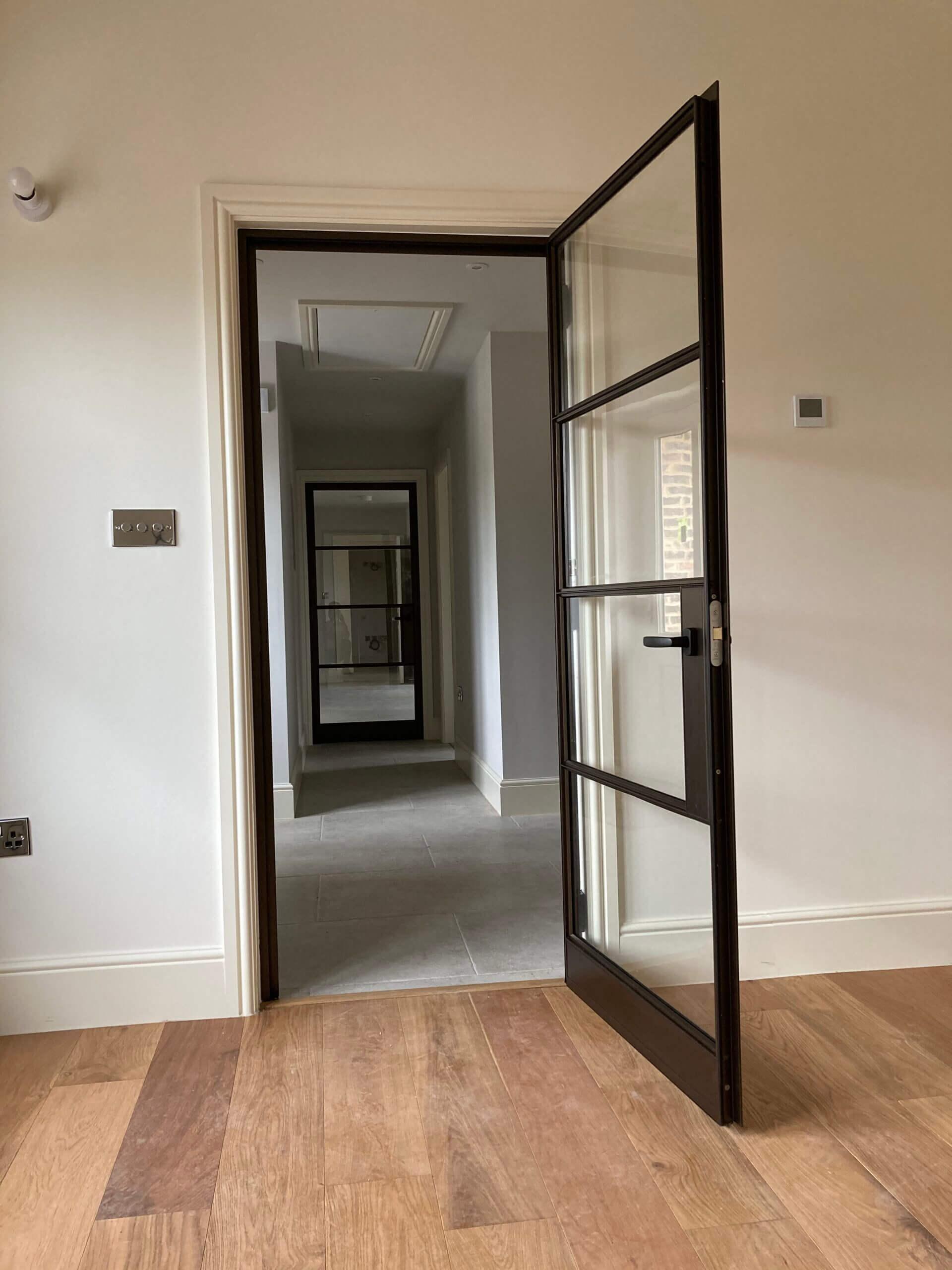 Internal Steel Doors in Bronze Design Plus 02