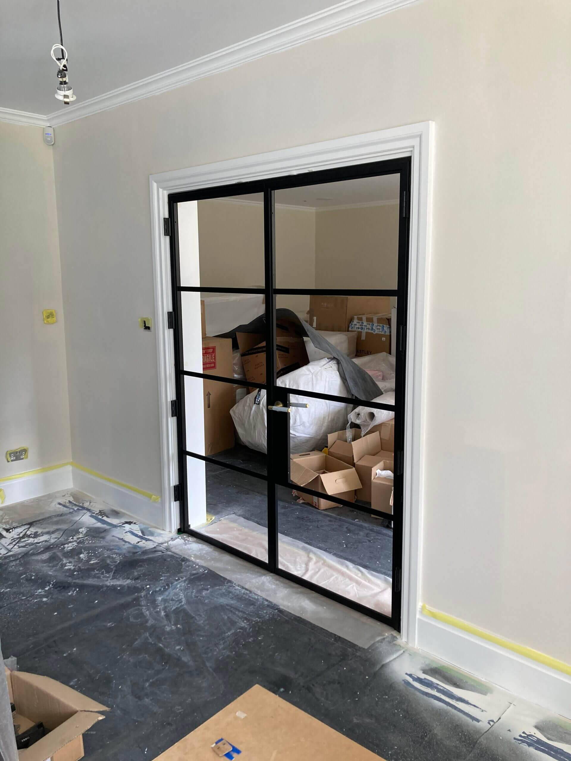 Internal Steel French Doors Design Plus 02