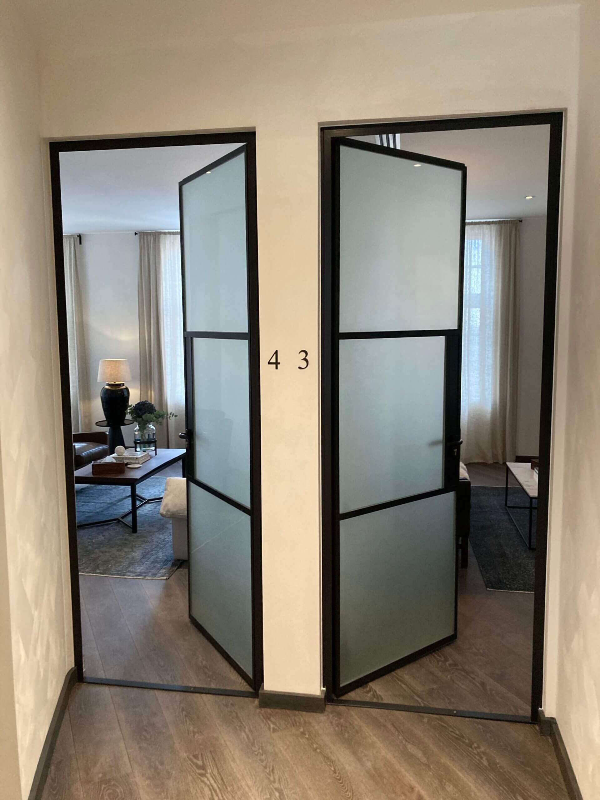 Internal Steel fire door Design Plus 03