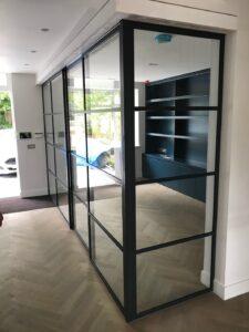 Original Steel Sliding Door and Partition Design Plus London 2