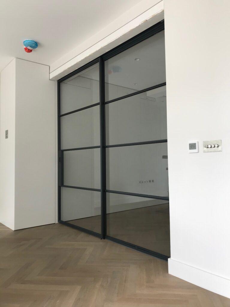 Original Steel Sliding Pocket Door Design Plus London 2