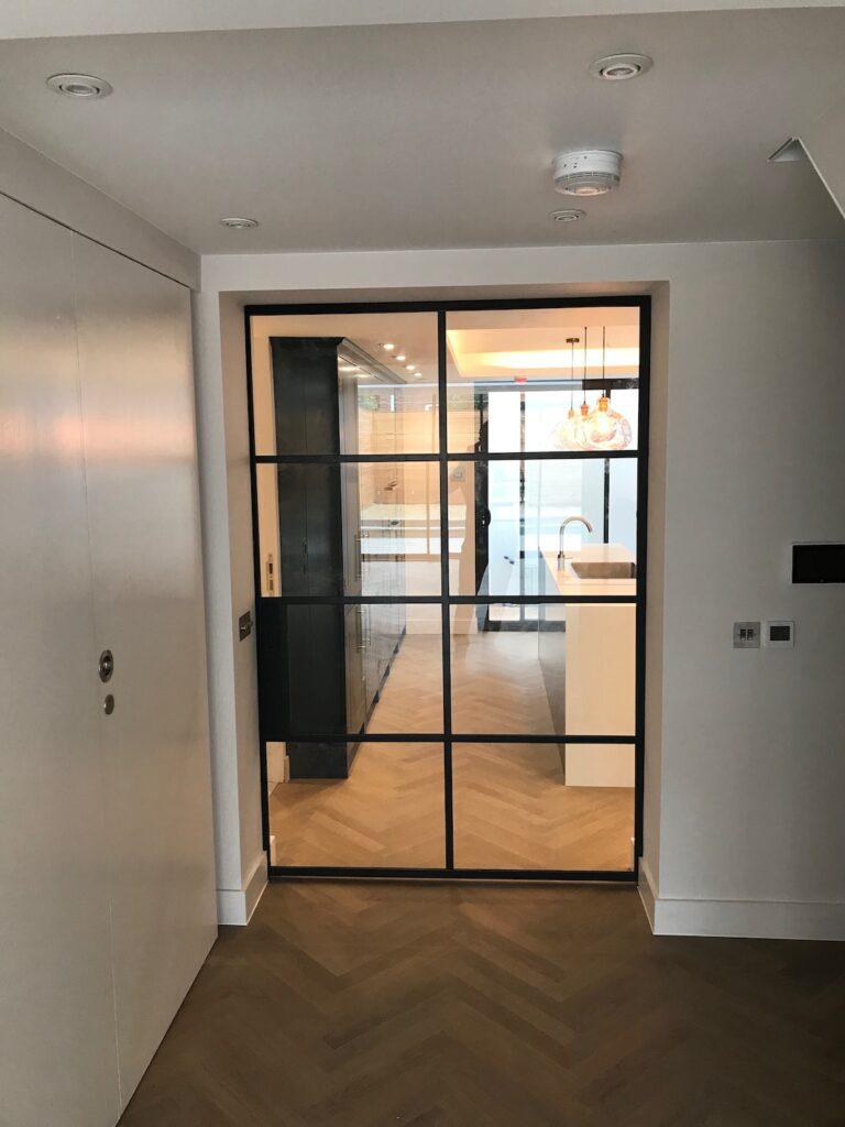 Original Steel Sliding Pocket Door Design Plus London 5