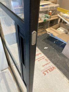 Original Steel Sliding Pocket door finger pull Design Plus 01