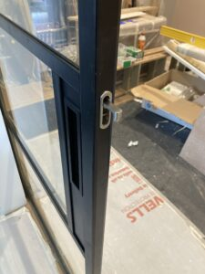 Original Steel Sliding Pocket door finger pull Design Plus 02