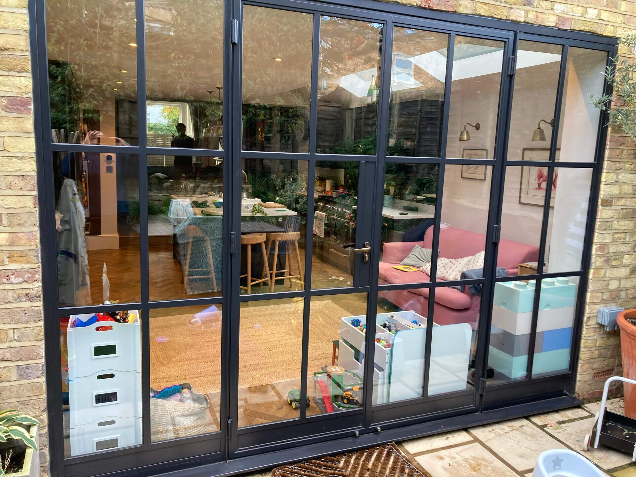 Original Steel doors Design Plus London F6a
