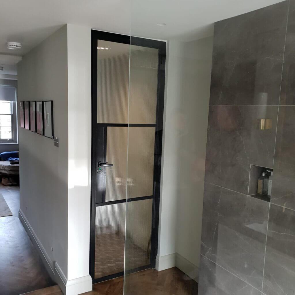 STEVEN SW6 Reeded Steel Door Design Plus
