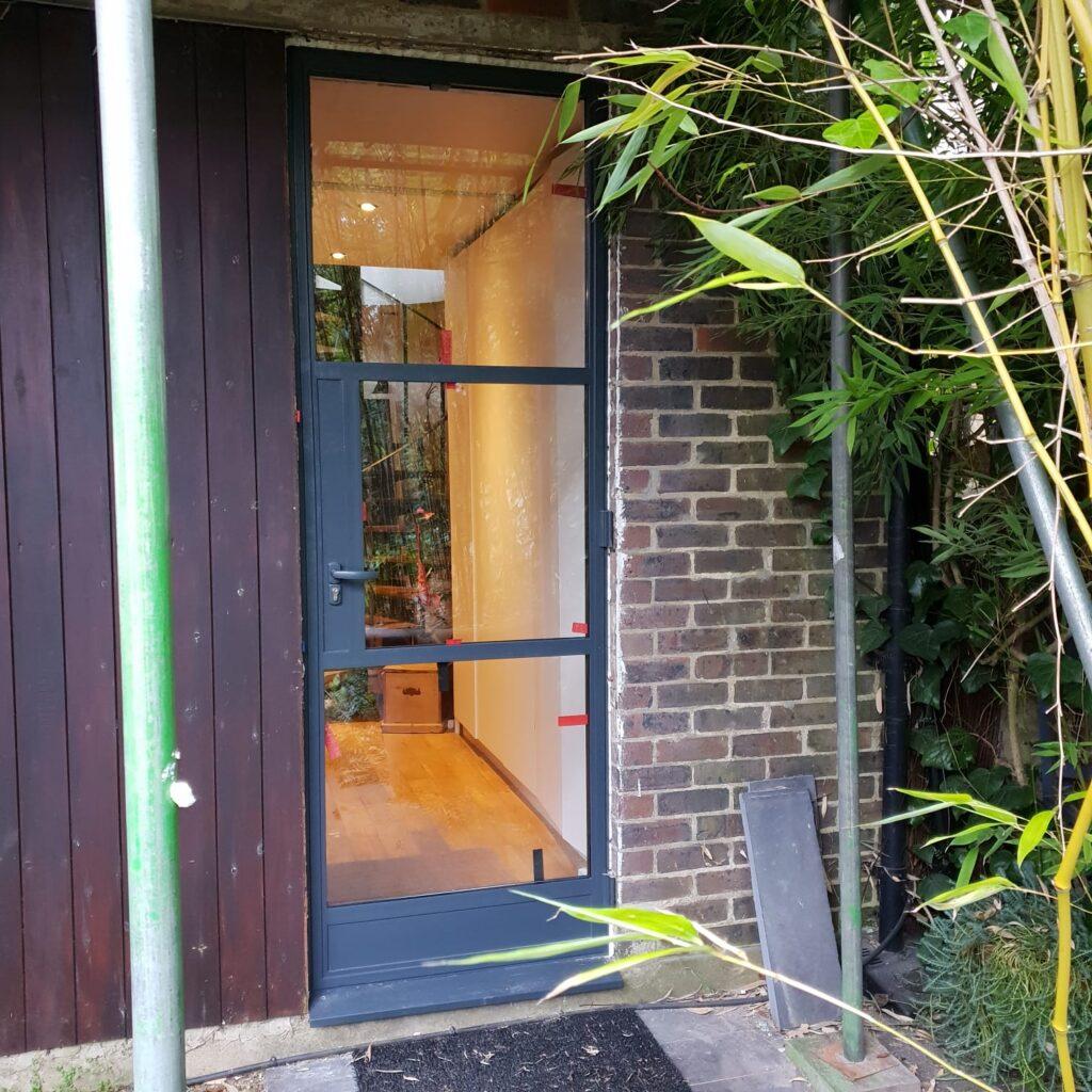 Steel door inspired Design Plus London W20 W40
