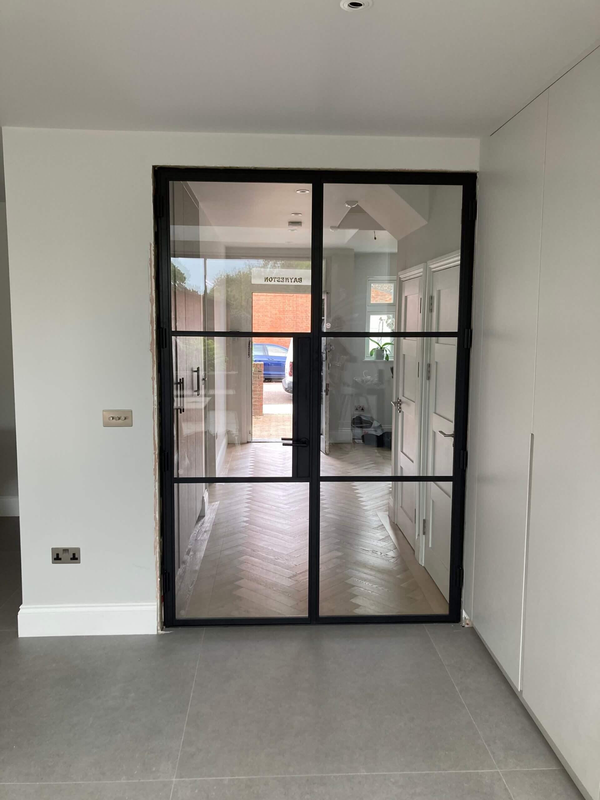Steel fire door Design Plus London 02